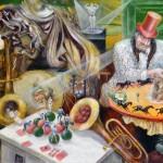 Circus Illusionist 20X16 2003