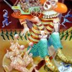 Clounade, Circus series, 24X20 2001