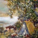 Book Spirit, 12x16, 2001