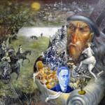 Master Bulgakov, 16x20, 2004