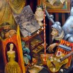 Studio Don Quixote, 36x36, 2009